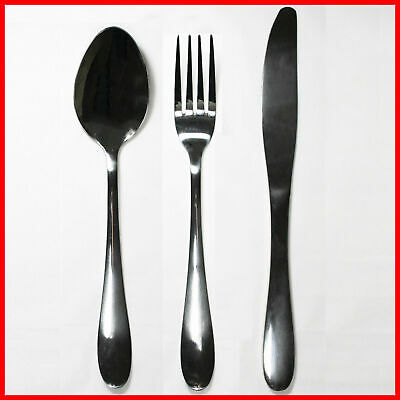 36x Piece Quality Stainless Steel Cutlery Set Bulk Wholesale -Spoon, Fork, Knife