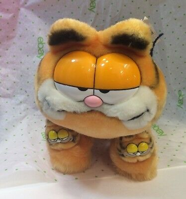 GARFIELD 1978-1971 Plush Stuffed Animal Cat Toy collectible Slippers
