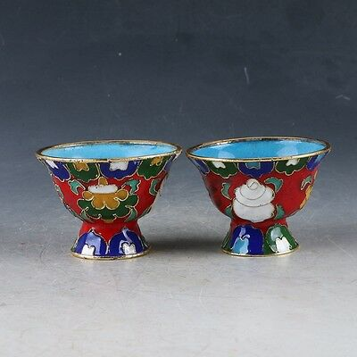 China Cloisonne Handmade Exquisite Cup EP0334