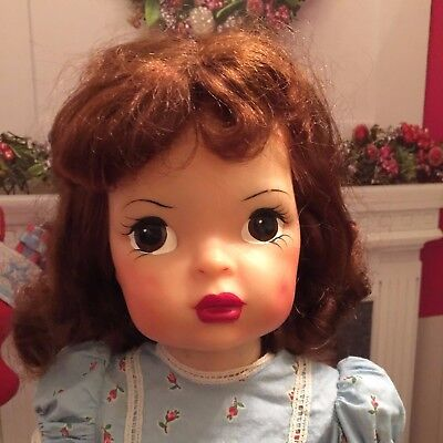 "Vintage Terri Lee 16"" Doll Hard Plastic Tightly Strung"