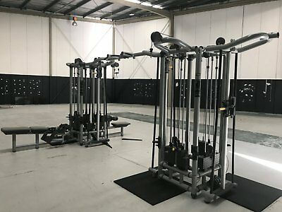 Technogym 8 Stack Cable Cross Over