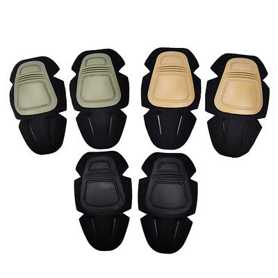 Airsoft Tactical Combat Knee Pads for Outdoor G3 Pants Trouser Kness ProtectorEV