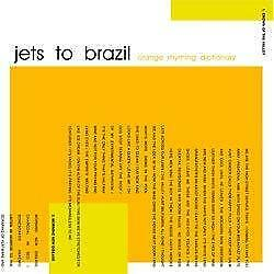 "New Music Jets To Brazil ""Orange Rhyming Dictionary"" 2xLP"