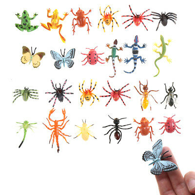 12pcs Plastic Insect Model for Kid toy Novelty Tricky toys  EV