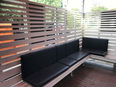 commercial grade out door bench seating