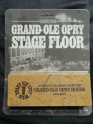 Genuine GRAND OLE OPRY STAGE FLOORING Country Music Authentic Piece Of History
