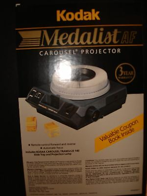 Kodak Medalist AF Carousel Projector - NEW (never removed from original box)