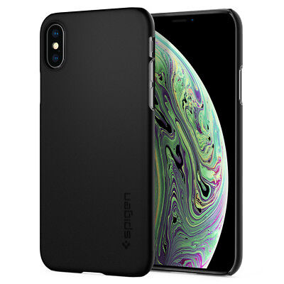 iPhone X/XS Cas Spigen® [Thin Fit] Ultra Slim Lightweight Protective Cover