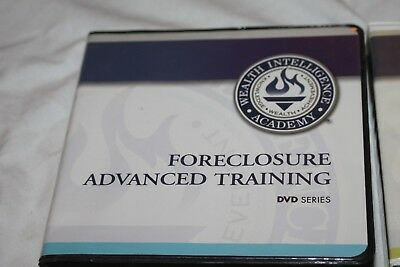Wealth Intelligence Academy - FORECLOSURE ADVANCED TRAINING CD-ROM COURSE