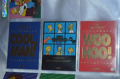 The Simpsons Downunder Redemption Card Set