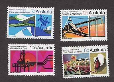 1970 Australian Decimal stamps - National Development - set of 4 MNH - SG469/72