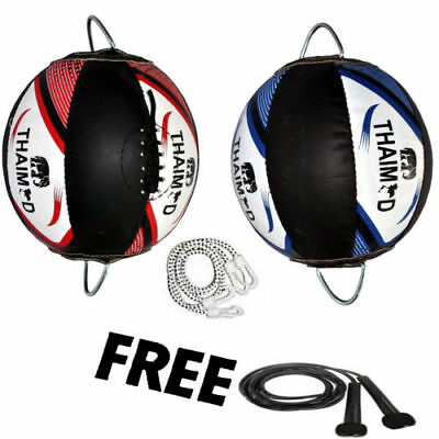 THAI LEATHER Double end  Floor ToCeiling BALL BOXING/MMA/Training/FITNESSWorkout