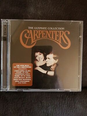 The carpenters double cd. The ultimate collection. Good find.