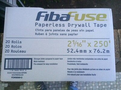 Fibafuse joint tape 76m, 20 Roll in the box, Made in USA