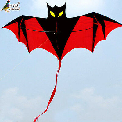 NEW 1.8m 70in Vampire Bat Kite red easy to fly great gift Outddoor fun Sports