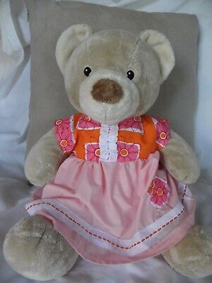 Dress and pants to fit Pumpkin Patch teddy girls 15 inch Build a bear clothes