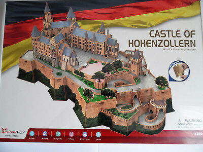 3D Puzzle Burg Hohenzollern Castle of Hohenzollern Cubic Fun Deutschland Germany