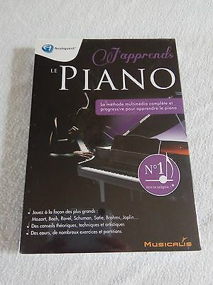 Avanquest J'apprends le Piano NEUF SOUS BLISTER