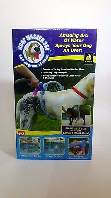 *NEW* WOOF WASHER 360 - Amazing Arc of Water Sprayer for your Dogs
