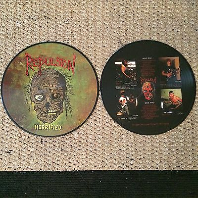 "REPULSION - Horrified 12"" Picture Disc (NEW*LIM.300 PIC.LP*US THRASH METAL/GRIND"