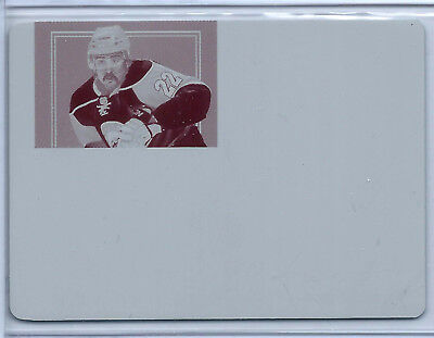 2011-12 Dominion Peerless Patches Printing Plate Magenta #44 Cal Clutterbuck 1/1