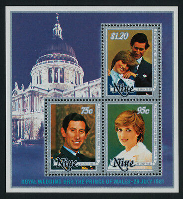 Niue 342a MNH - Royalty, Prince Charles, Diana Wedding