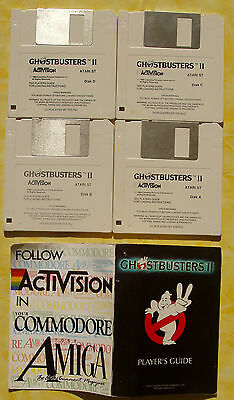 Disquette ATARI Ghosbusters II (activision)
