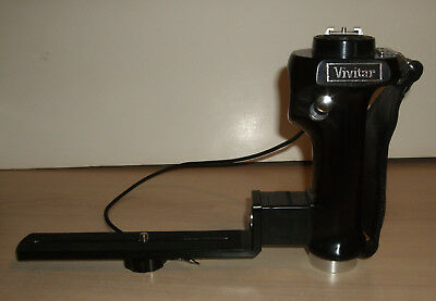 Vivitar PG-1 Trigger Grip Flash and Camera Bracket With Shutter Release