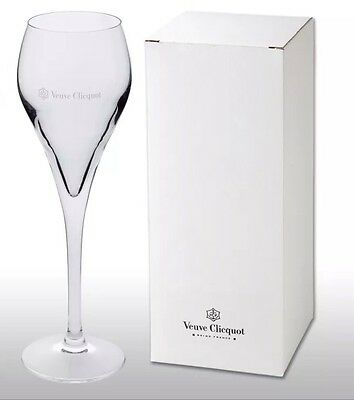 Veuve Clicquot Crystal Champagne Flute New And Boxed