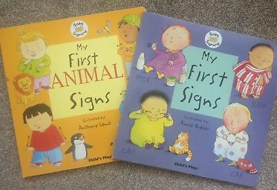 Baby / Toddler Sign Language Board Books (2)