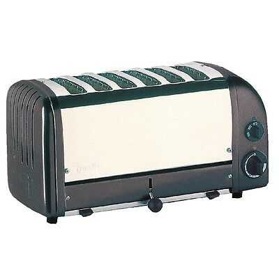 Dualit Bread Toaster 6 Slice Charcoal 60156 EBE269-A