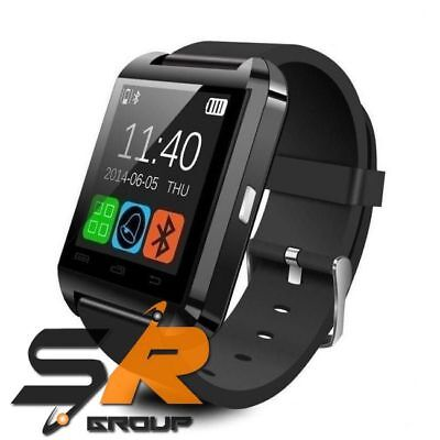 Phone Bluetooth Smartwatch U8 Orologio Telefono Per Android Ios Menù Italiano