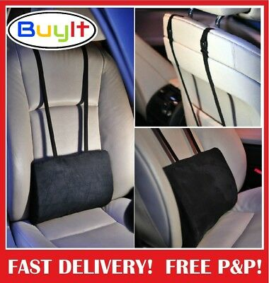 Support Pillow Cushion  Lower Back Lumbar For Car Seat & Office Chair Universal