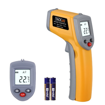 Tacklife IT-T02 Classic Non Contact Laser IR Infrared Thermometer -58℉~716℉ Digi