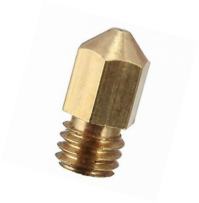 JOYSA 5PCS 3D Printer 0.4mm Extruder Brass Nozzle Print Head for MK8 Makerbot Re
