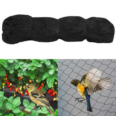 15x15M Nylon Anti Bird Netting Commercial Grade Plant Fruit Tree Net Black