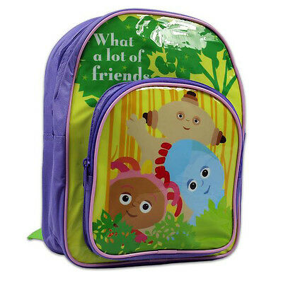 In The Night Garden Backpack | Kids Rucksack | IgglePiggle Upsy Daisy Bag | NEW