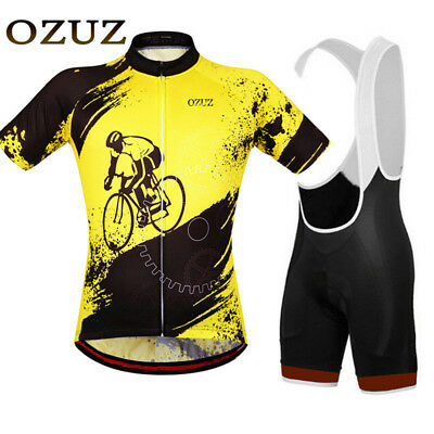 Cycling Jersey & Shorts Set Short Sleeve light weight Riding jersey breathable