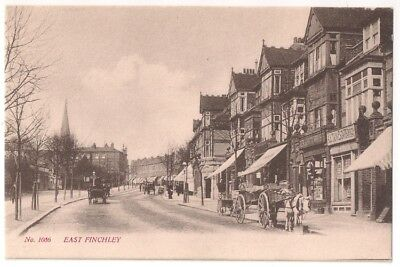 EAST FINCHLEY - SHOPS by G SMITH, STROUD GREEN ROAD