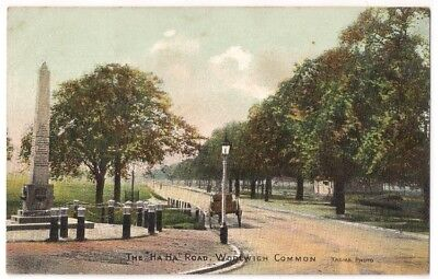"THE ""HA HA"" ROAD, WOOLWICH COMMON, LONDON by MOLYNEUX, WOOLWICH"