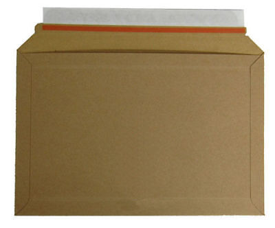 Bundle of 20 -  A194 Lil 292 x 194mm Rigid Cardboard Book Mailer Envelope Large