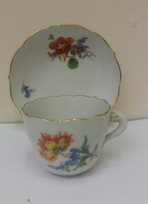 Meissen Cup And Saucer- Quality!