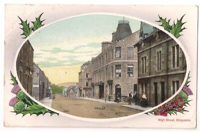 HIGH STREET, KINGUSSIE pu1912