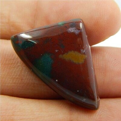 21.1 cts 100% Natural Bloodstone Gemstone Healing Loose Cabochon N#282-31