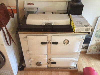 Rayburn royal, used, oil fired.