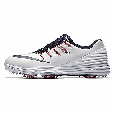 New Nike Lunar Control 4 Women Golf Shoes White Blue University Arizona Wildcats