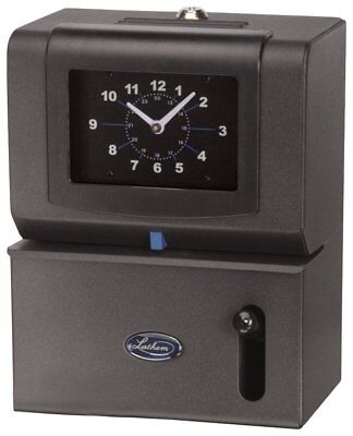 Lathem Heavy-Duty Manual Time Clock for Day of Week, Hour 1-12 and Minutes 2121