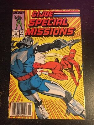 Gi-joe Special Missions#24 Incredible Condition 7.5(1989) Cockrum Art!!