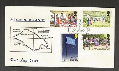 Pitcairn Islands 1972 South Pacific Commission Fdc Sg,120-123 Lot 5469A