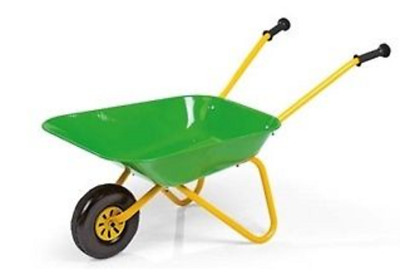Rolly Toys Childs Wheelbarrow 271801 in Green and Yellow